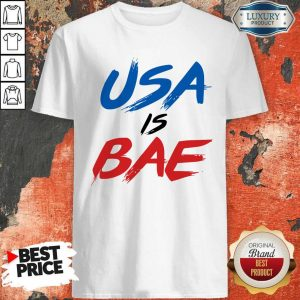 Official Usa Is Bea Blue Black Red T-Shirt