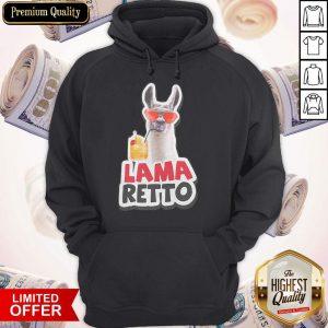 Original Llama Retro Hoodie
