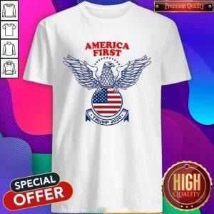 Perfect America First Trump Nazi Shirt
