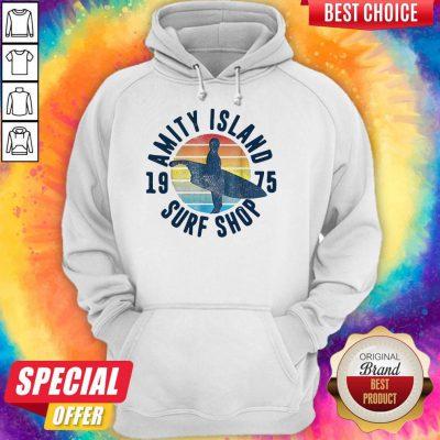 Perfect Amity Island Surf Shop Vintage Hoodie