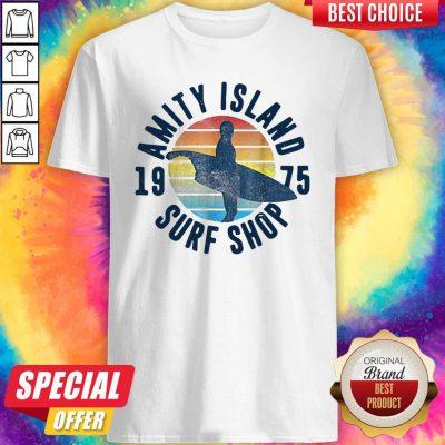Perfect Amity Island Surf Shop Vintage Shirt