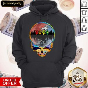 Perfect Grateful Dead Bear Skull Hoodie