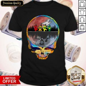 Perfect Grateful Dead Bear Skull Shirt
