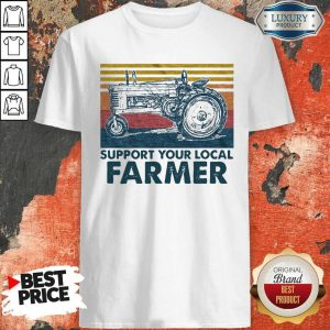Perfect Support Your Local Farmer Agrimotor Vintage Retro T-Shirt