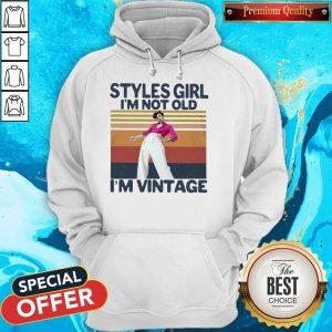 Premium Harry Styles Girl I'm Not Old I'm Vintage Hoodie