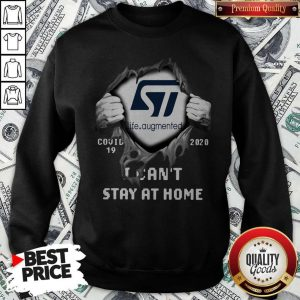 Pretty Blood Inside Me Life Augmented Covid-19 2020 I Can't Stay At Home Sweatshirt
