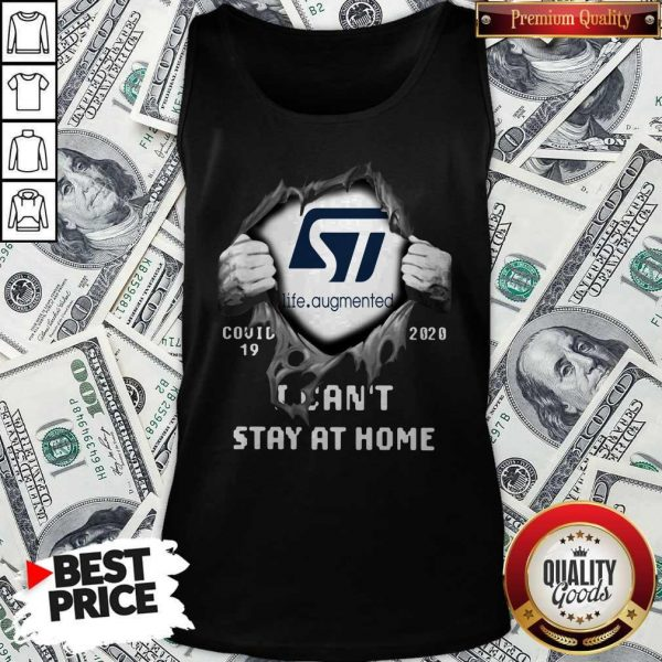 Pretty Blood Inside Me Life Augmented Covid-19 2020 I Can't Stay At Home Tank Top