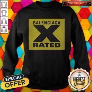 Pretty X Rated Large Balenciaga Yellow Sweatshirt