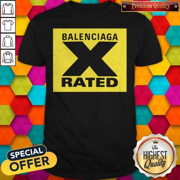 Pretty X Rated Large Balenciaga Yellow T-Shirts