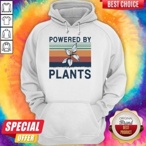 Top Powered By Plants Vintage Hoodie