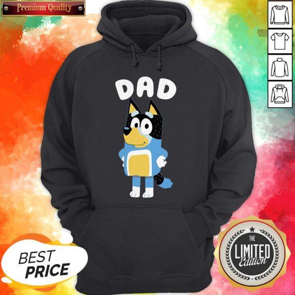 Cute Bluey Dad Hoodie