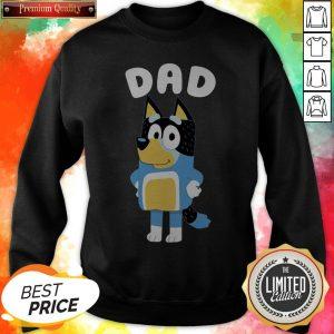 Cute Bluey Dad Sweatshirt