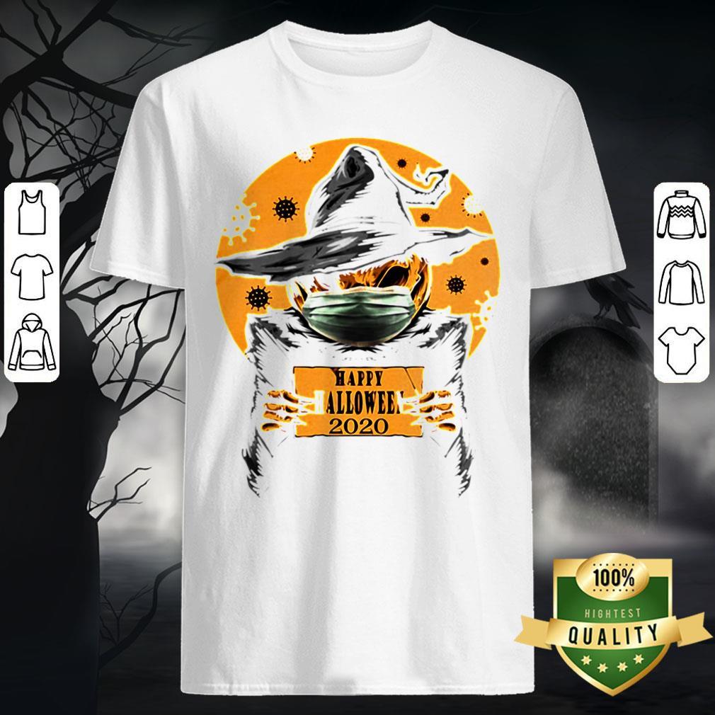 Happy Halloween Jack Skellington Witch 2020 Covid 19 Shirt Warmtees Custom T Shirts Hoodies Apparel