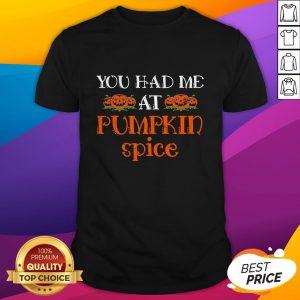 Pumpkin Spice Halloween Gift Pumpkin Shirt