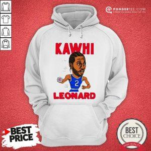02nd Kawhi Leonard Los Angeles Clippers Hoodie - Desisn By Warmtees.com