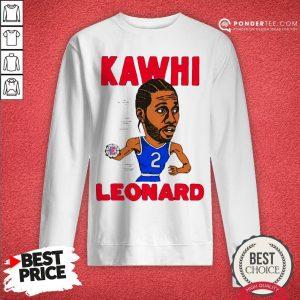 02nd Kawhi Leonard Los Angeles Clippers Sweatshirt - Desisn By Warmtees.com