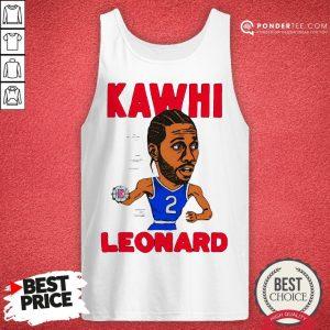 02nd Kawhi Leonard Los Angeles Clippers Tank Top - Desisn By Warmtees.com