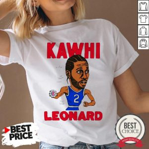 02nd Kawhi Leonard Los Angeles Clippers V-neck - Desisn By Warmtees.com