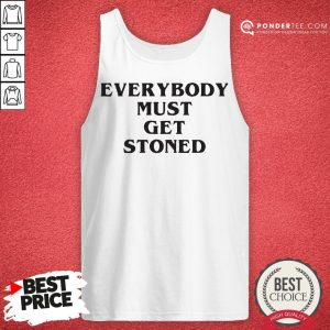 Awesome Everybody Must Get Stoned Tank Top - Desisn By Warmtees.com