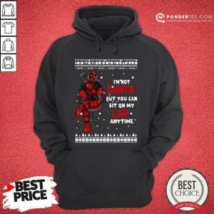 Deadpool I'm Not Santa But You Can Sit On My Lap Anytime Christmas Hoodie - Desisn By Warmtees.com