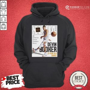 Devin Booker Slam 21 Year Old Savage Hoodie - Desisn By Warmtees.com