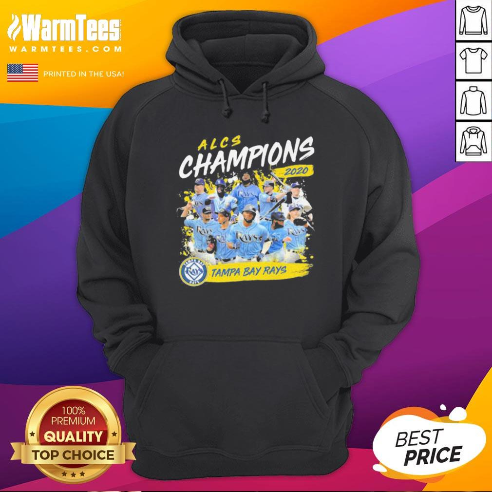 Funny Alcs Champions 2020 Tampa Bay Rays Hoodie - Desisn By Warmtees.com