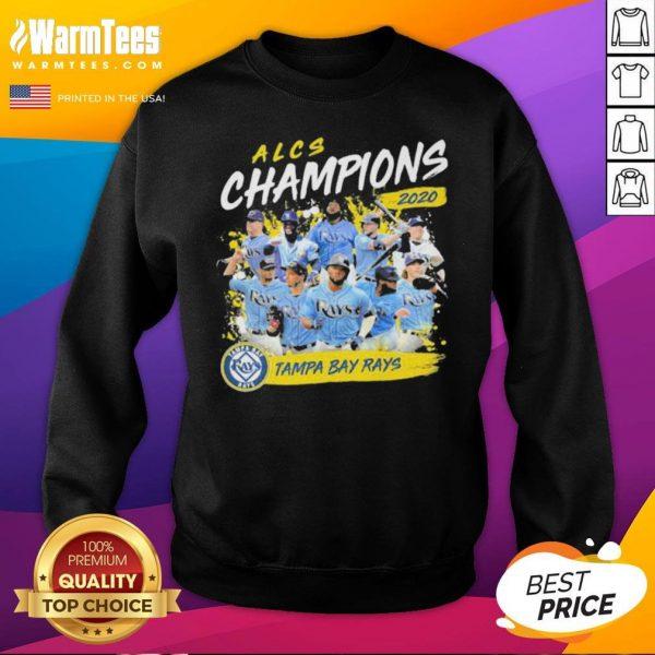 Funny Alcs Champions 2020 Tampa Bay Rays Sweatshirt - Desisn By Warmtees.com
