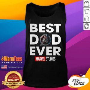 Funny Best Dad Ever Marvel Studios Tank Top - Desisn By Warmtees.com