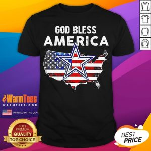 Funny God Bless America Shirt - Desisn By Warmtees.com