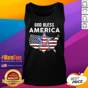 Funny God Bless America Tank Top - Desisn By Warmtees.com