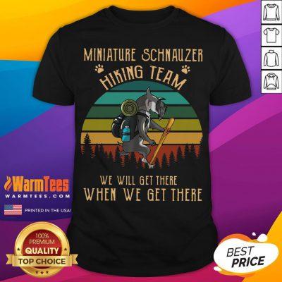 Funny Miniature Pinscher HikingTeam Vintage Classic Shirt - Desisn By Warmtees.com