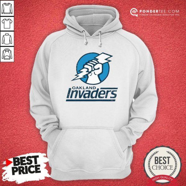Funny Oakland Invaders Football Hoodie - Desisn By Warmtees.com