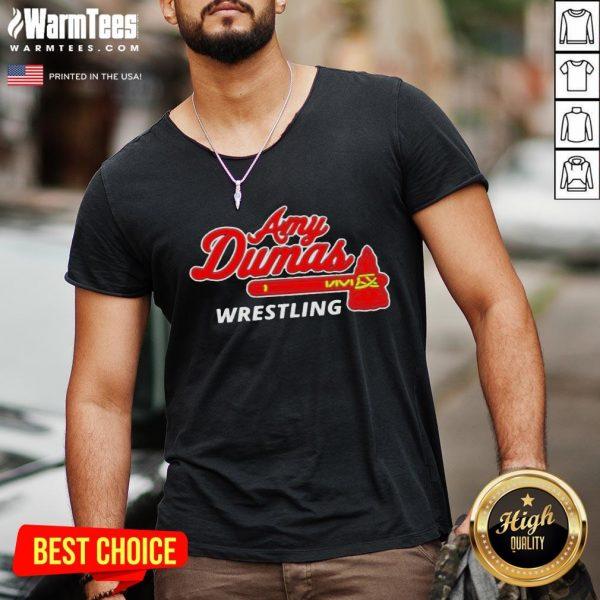 Good Amy Duma Wrestling V-neck - Desisn By Warmtees.com