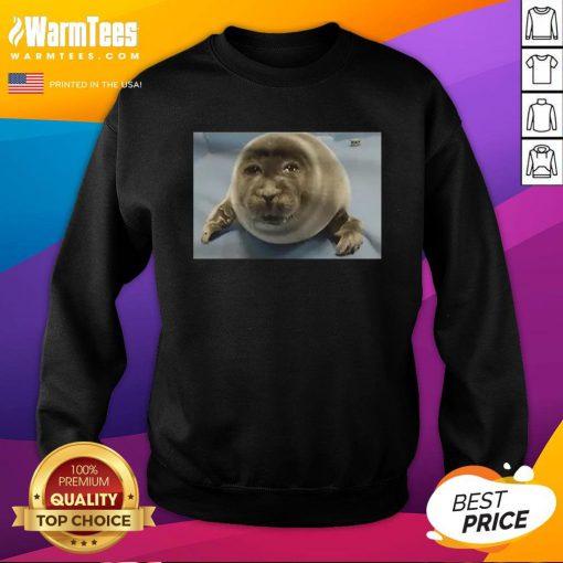 Happy Toba Aquarium Baby Seal Sweatshirt - Design By Warmtees.com