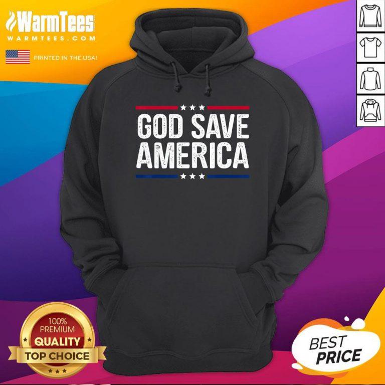 Hot God Save America Shirt Retro Vintage Style Tee Hoodie - Desisn By Warmtees.com