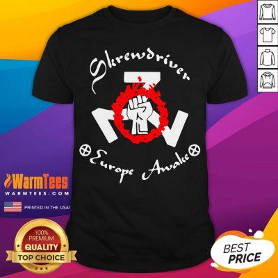 Official Shane Burley Skrewdriver Europe Shirt - Desisn By Warmtees.com