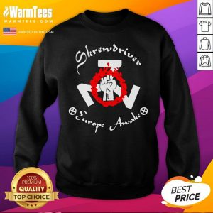 Official Shane Burley Skrewdriver Europe Sweatshirt - Desisn By Warmtees.com