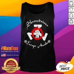 Official Shane Burley Skrewdriver Europe Tank Top - Desisn By Warmtees.com