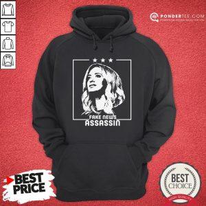 Kayleigh Mcenany Fake News Assassin Hoodie - Desisn By Warmtees.com