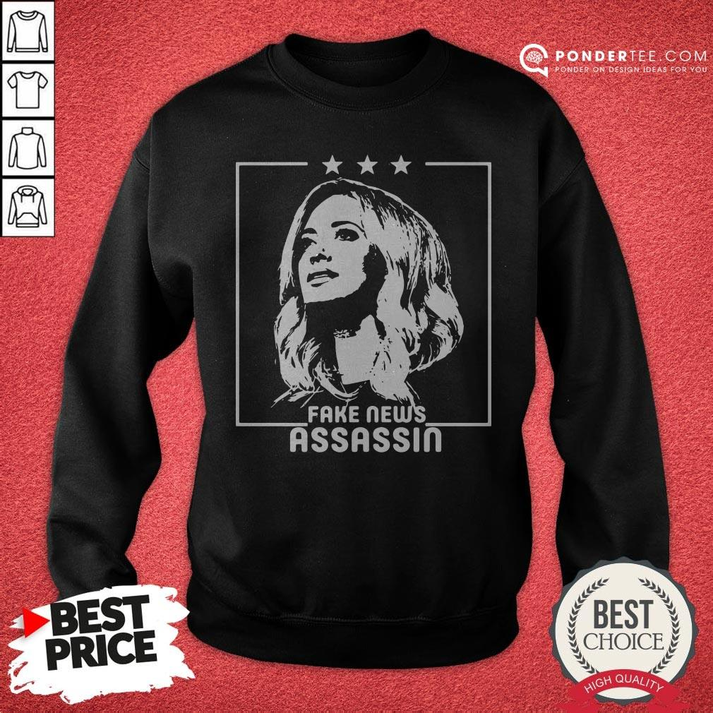 Kayleigh Mcenany Fake News Assassin Sweatshirt - Desisn By Warmtees.com