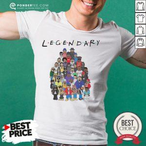 King Of Hip Hop Legendary Friends TV Show Shirt - Desisn By Warmtees.com