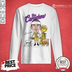 Los Angeles Lakers The Carushow Sweatshirt - Desisn By Warmtees.com