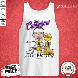 Los Angeles Lakers The Carushow Tank Top - Desisn By Warmtees.com