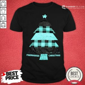 Mint Farmhouse Christmas Raglan Shirt - Desisn By Warmtees.com