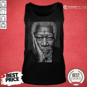 Morgan Freeman Photographed Tank Top - Desisn By Warmtees.com