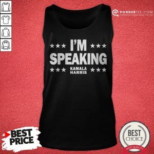 Mr Vice President I'm Speaking Tank Top - Desisn By Warmtees.com