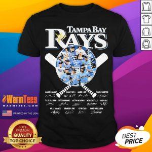 Nice Tampa Bay Rays Baseball Signatures Shirt - Desisn By Warmtees.com
