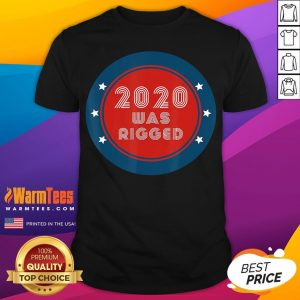 Official Election Rigged 2020 Voter Fraud Shirt - Desisn By Warmtees.com