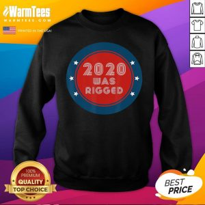Official Election Rigged 2020 Voter Fraud Sweatshirt - Desisn By Warmtees.com