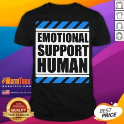 Official Emotional Support Human Shirt- Desisn By Warmtees.com
